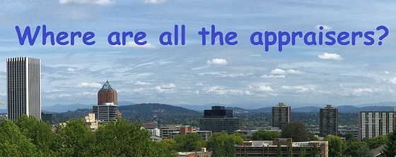 Difficult to Hire Appraiser in Portland