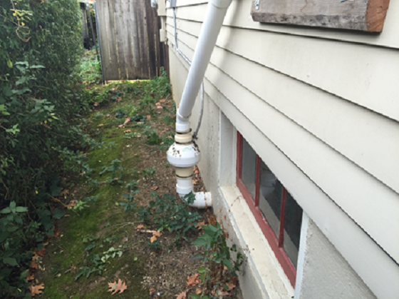 Radon Mitigation Seen on Portland Home by Appraiser